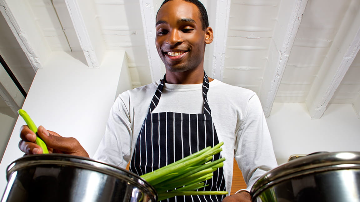 Learn how to cook healthy for free