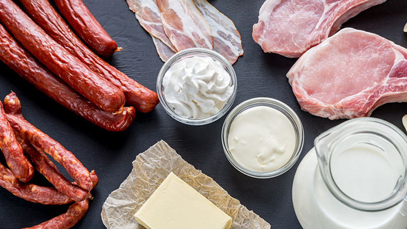 how to keep a low saturated fat diet