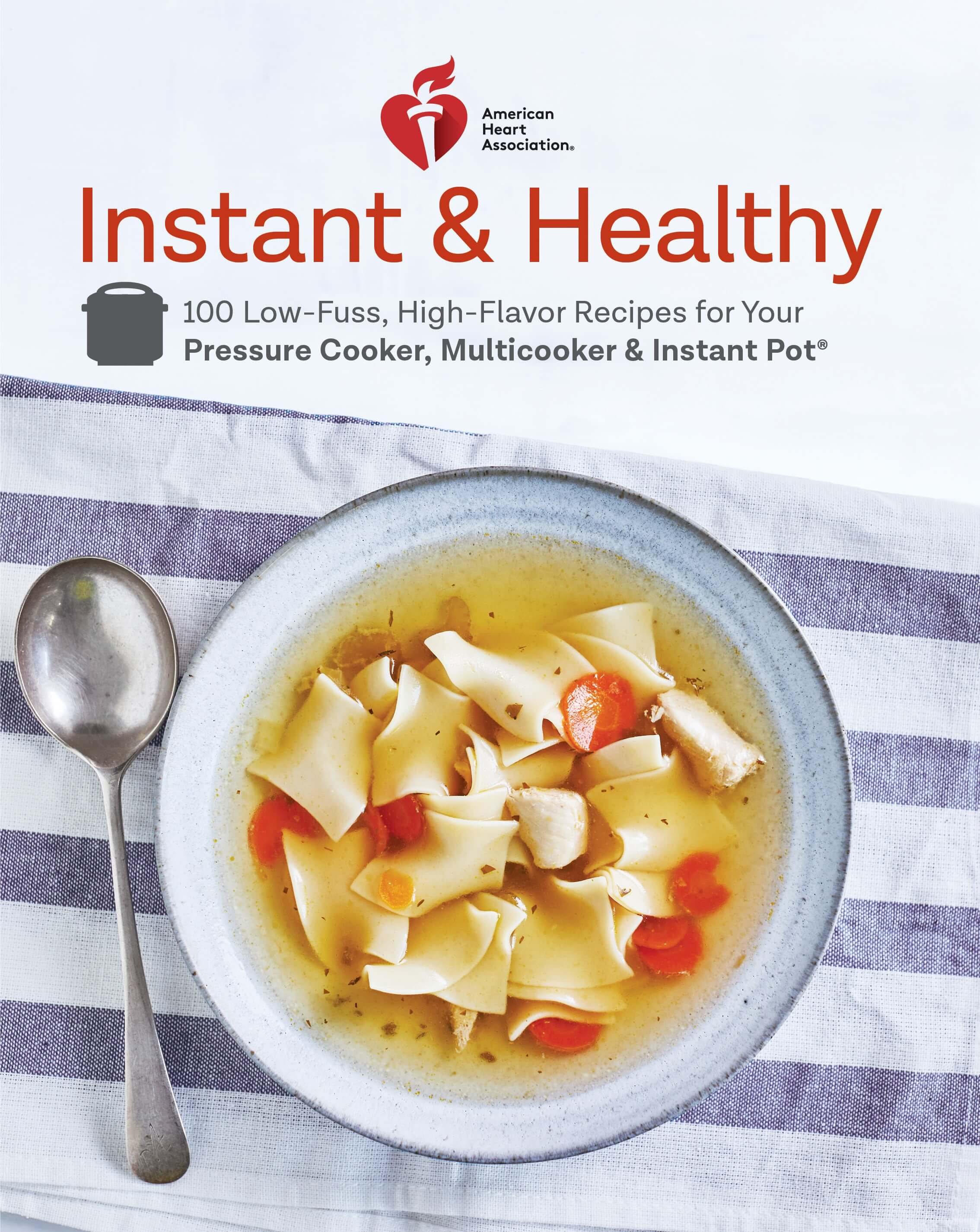 Instant Healthy cookbook cover