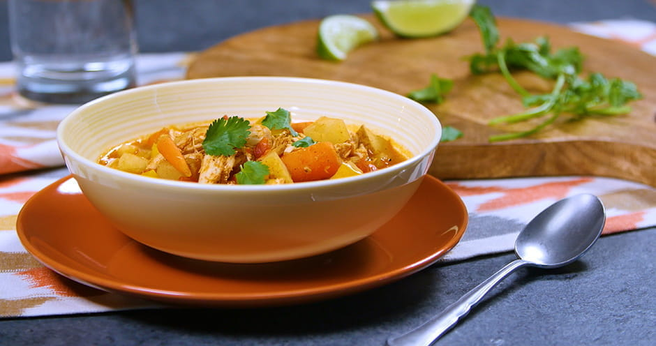 Slow cooker Mexican Chicken Soup