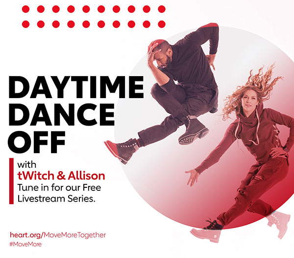 Daytime Dance Off with tWitch and Allison