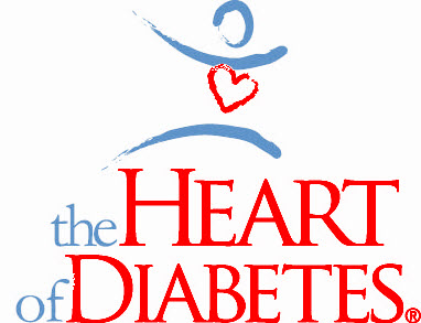 The Heart of Diabetes logo