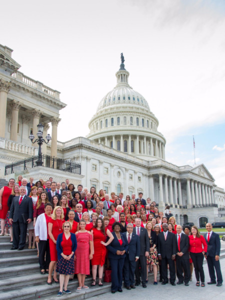 Advocates Gather on Capitol Hill Steps