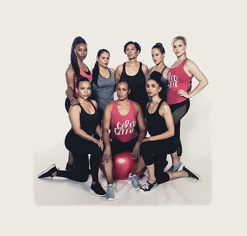 Go Red Get Fit group