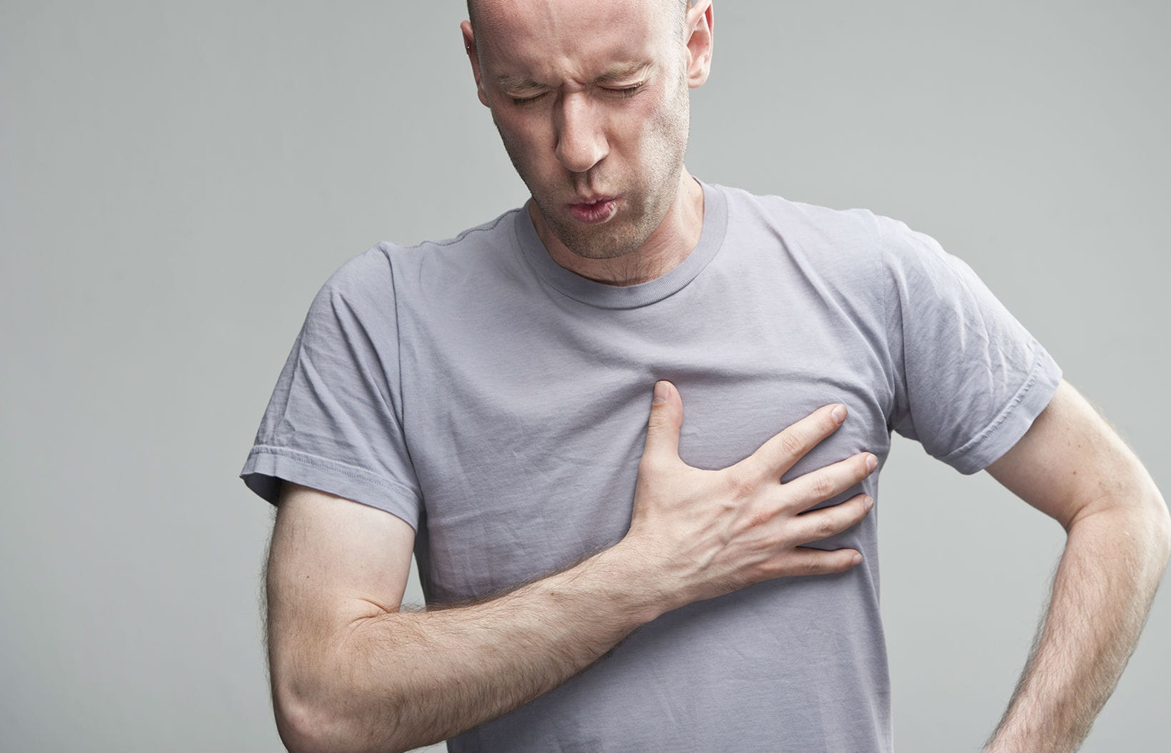 how to train people with unexplained chest pains