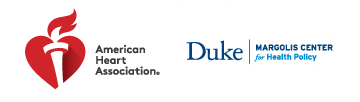 AHA - Duke Margolis Center for Health Policy dual logo