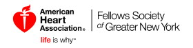 American Heart Association | Life is Why | Fellows Society of Greater New York