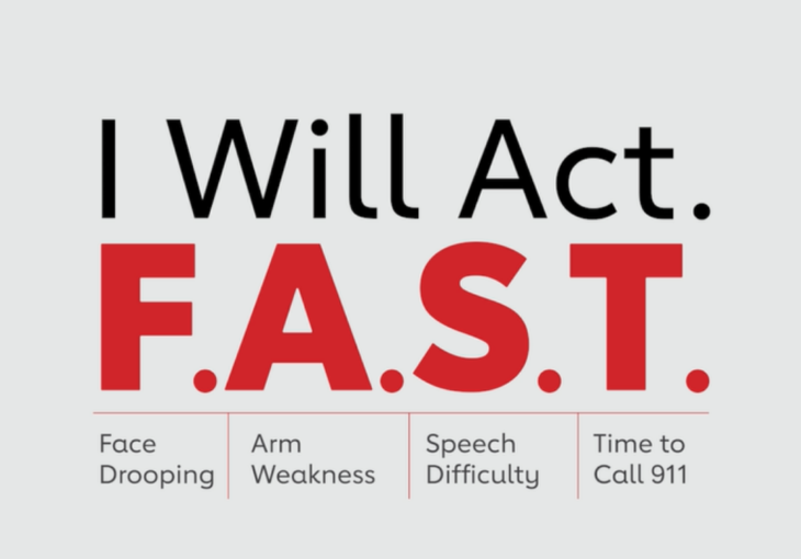 Act FAST for Signs of Stroke