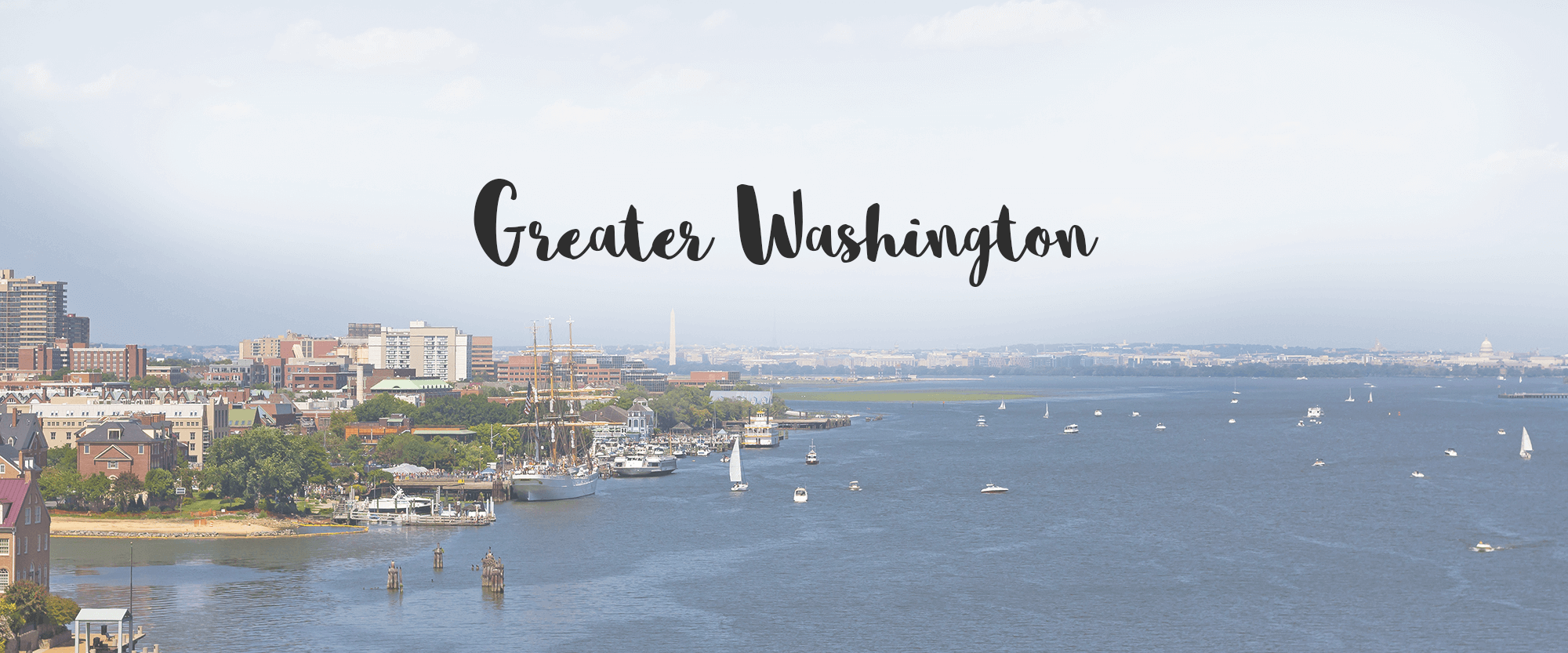 Greater Washington Region Header