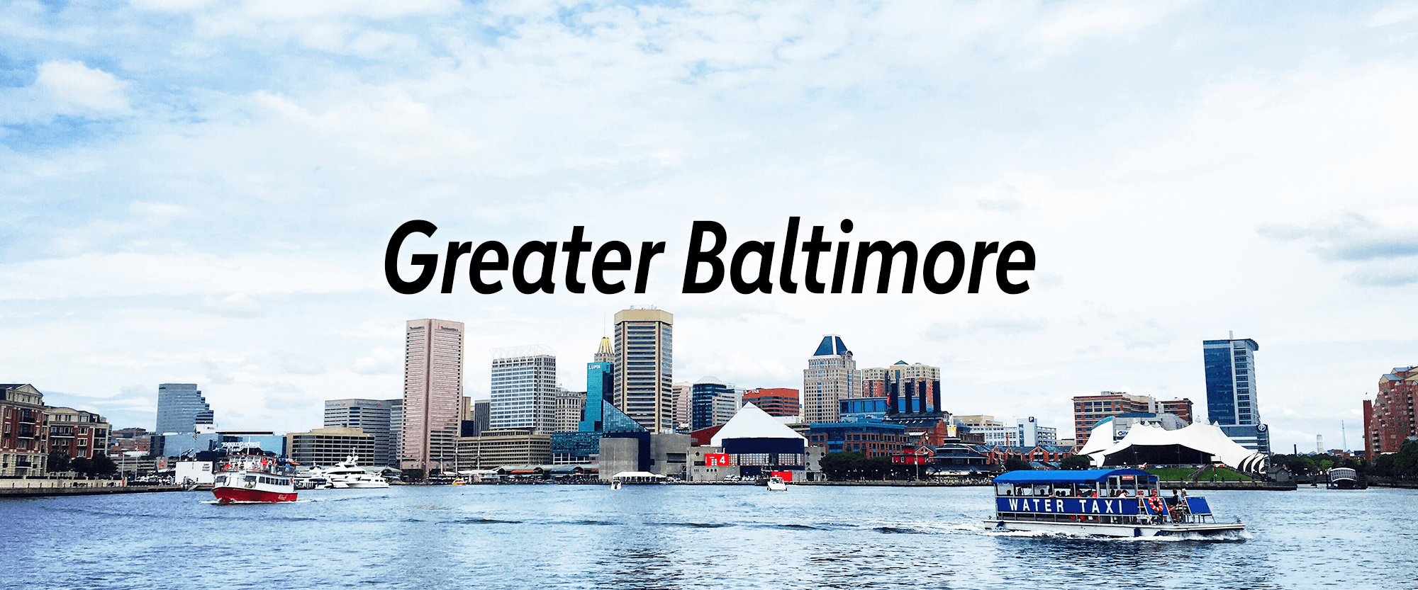 Baltimore Maryland page header