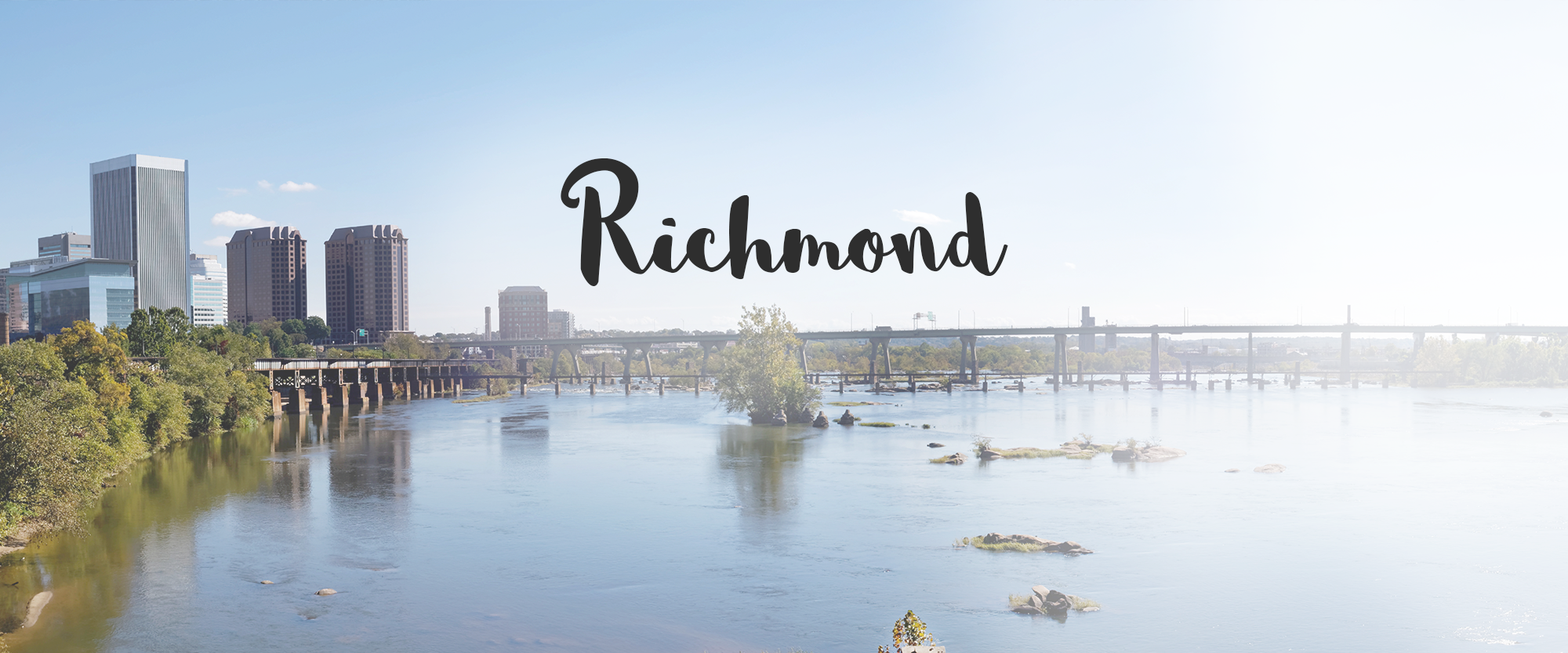 Richmond Virginia Homepage Header