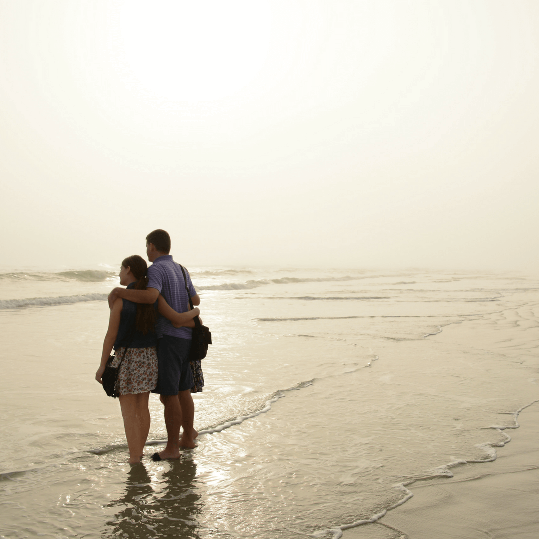 Couple on Daytona Beach