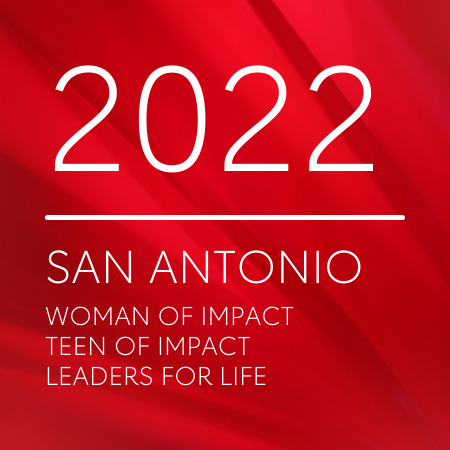 2022 san antonio women of impact, teen of impact, and leaders for life