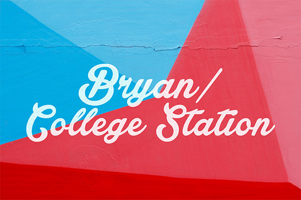 bryan college station wall