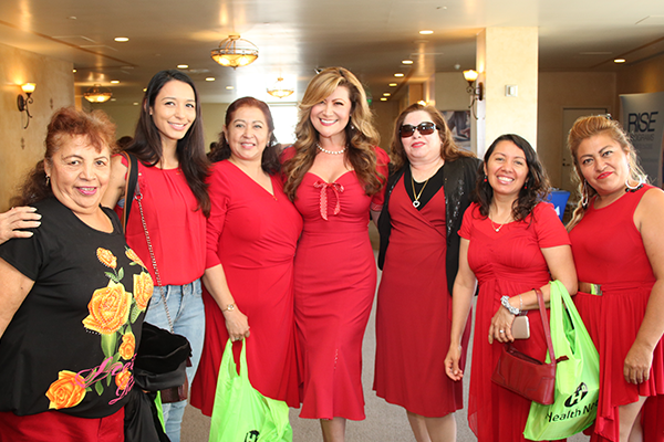 Ladies at Los Angeles Por Tu Corazon Luncheon
