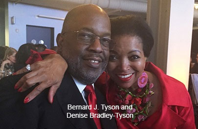 Bernard J Tyson and Denise Bradley Tyson