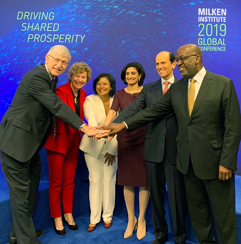 Bernard J Tyson and the Milken Institute 2019