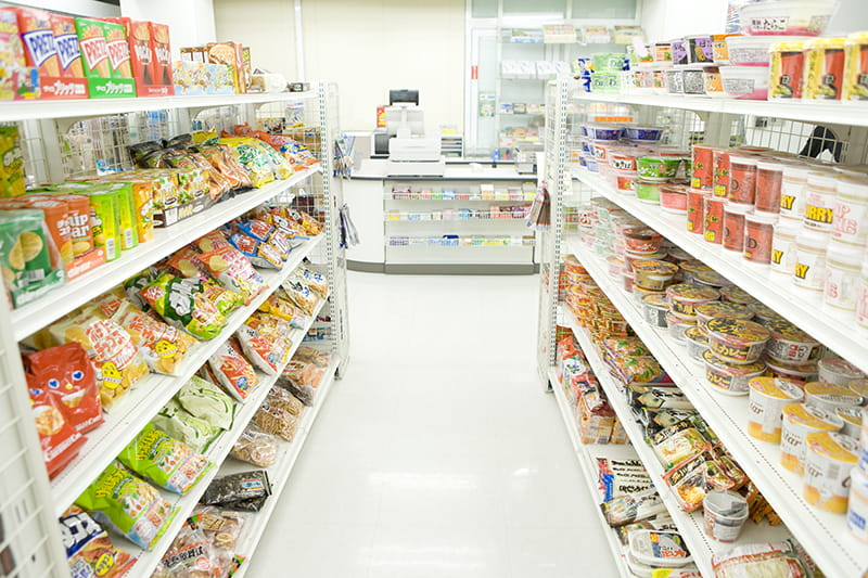 Convenience Store food isle