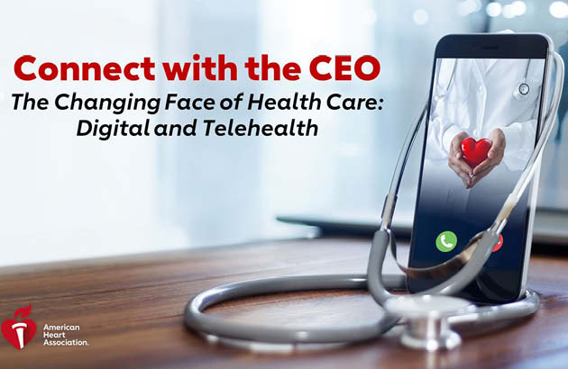 Connect with the CEO Digital and Telehealth