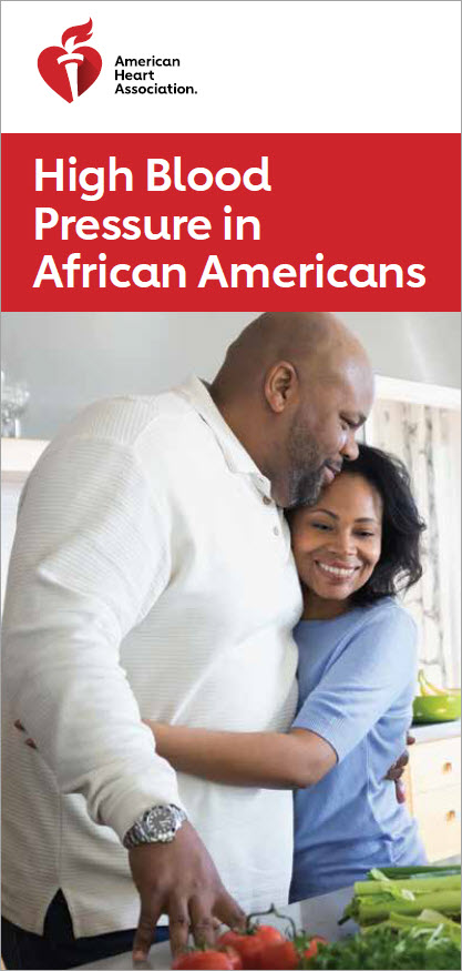 HBP in African Americans brochure cover