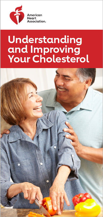 Understanding and Improving Cholesterol brochure cover