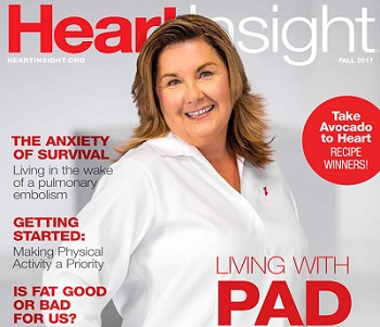 Heart Insight Living with PAD cover