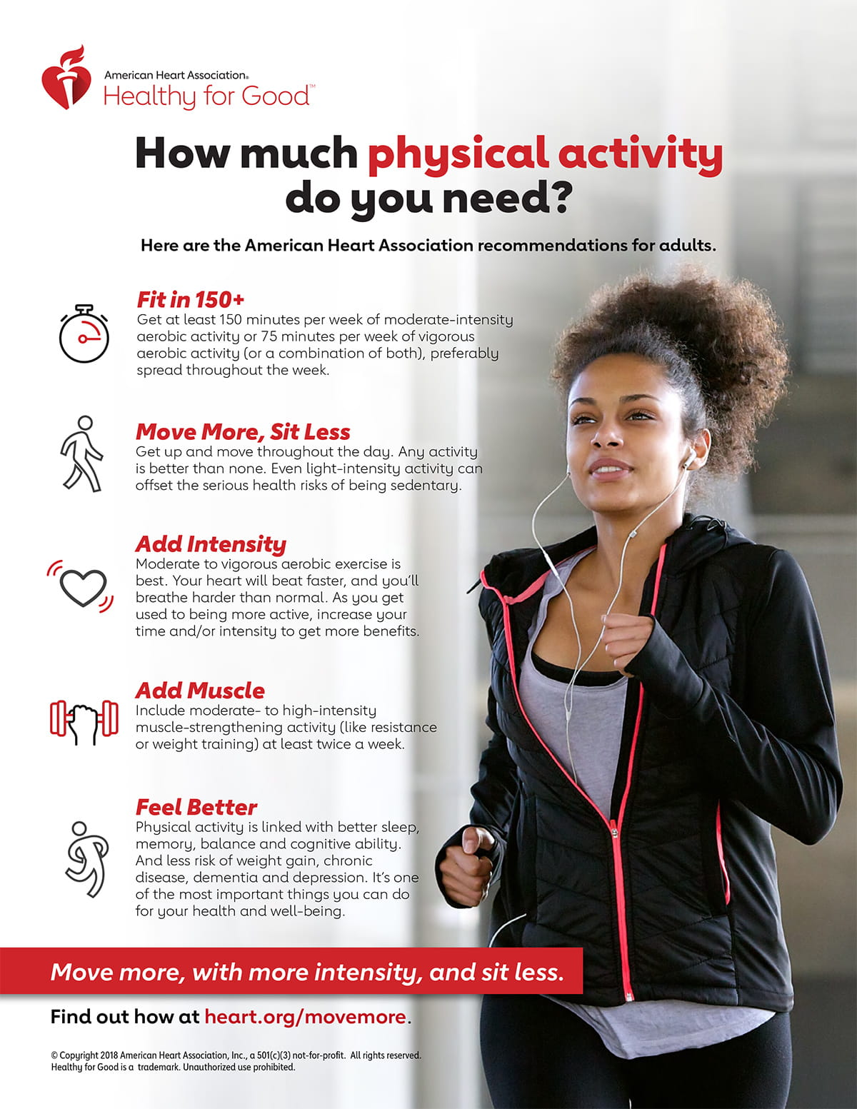Physical Education Is Key To Longer >> Fitness American Heart Association