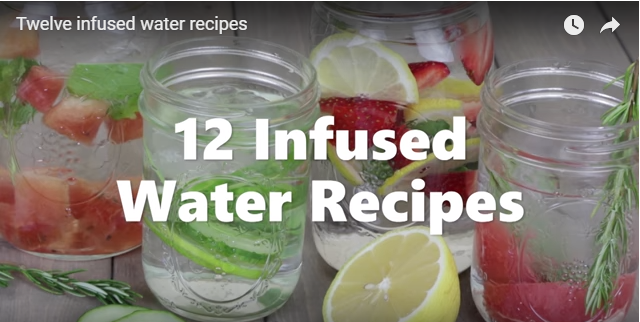 12 Infused Water Recipes Video   American Heart Association