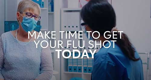 make time to get your flu shot today