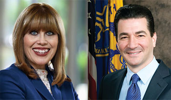 Nancy Brown and Scott Gottlieb