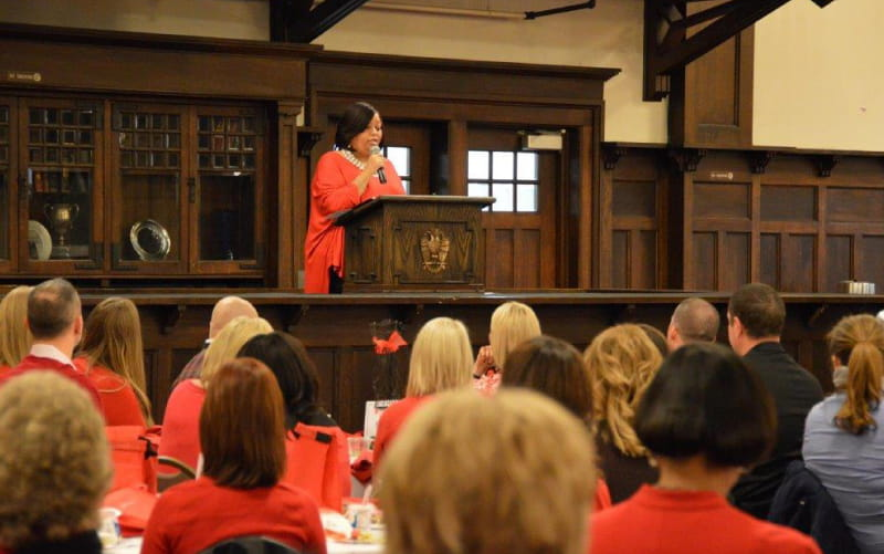Yolanda Thompson presenting at Better U 2015. (Photo courtesy of Yolanda Thompson)