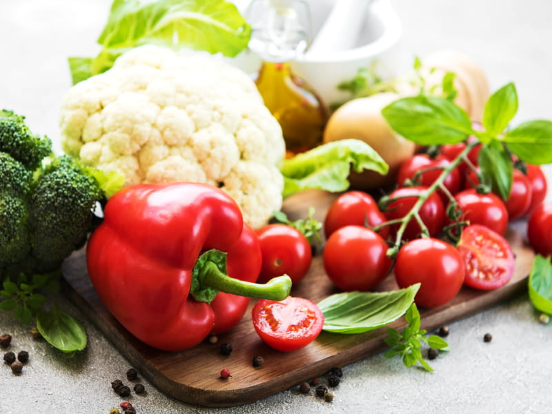 how a vegetarian diet reduce heart disease
