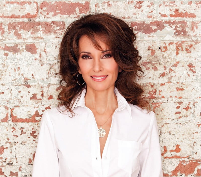 Susan Lucci, heart disease survivor.  (Photo courtesy of Yolanda Perez)