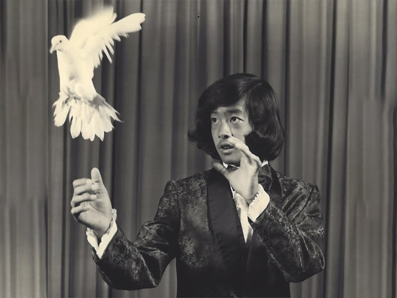 Before medicine, Dr. Alson Inaba had a successful magic act. He won the American Heart Association's first Innovator at Heart award in 2019.