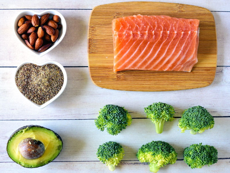 Heart-healthy foods. (Cathy Scola, Getty Images)