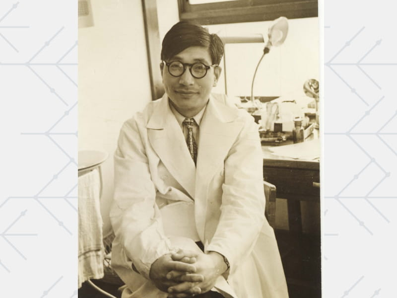 Pediatrician Dr. Tomisaku Kawasaki early in his career. (American Heart Association Archives)
