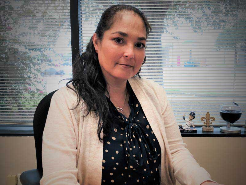 Belinda Zuniga joined a project doing groundbreaking research on stroke in Mexican Americans after the death of her grandmother. (Photos courtesy of Belinda Zuniga)