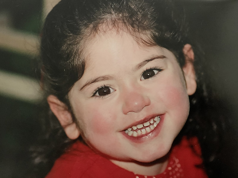 Maddie Ramon at age 3, after surviving three open-heart surgeries. (Photo courtesy of the Ramon family)