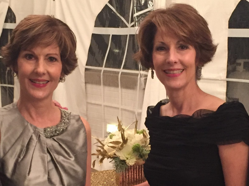 Identical twins and heart attack survivors, Pamela Smith (left) and Patricia Wood. (Photo courtesy of Patricia Wood)