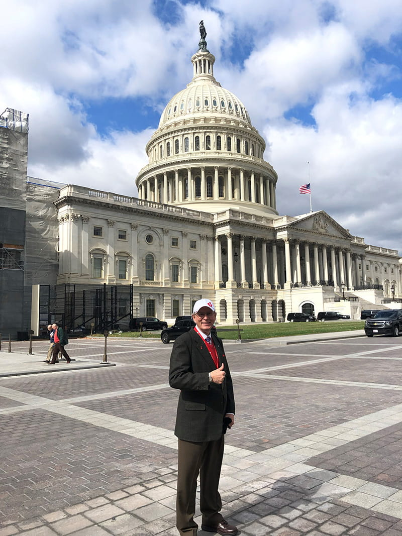Doug Tapking participated in the American Heart Association's 'You're the Cure on the Hill' event on Capitol Hill in 2019. (Photo courtesy of Doug Tapking)