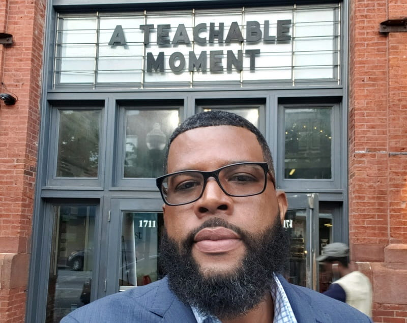 "Lee Stroy appears in ""A Teachable Moment,"" a documentary about stroke. (Photo courtesy of Lee Stroy)"