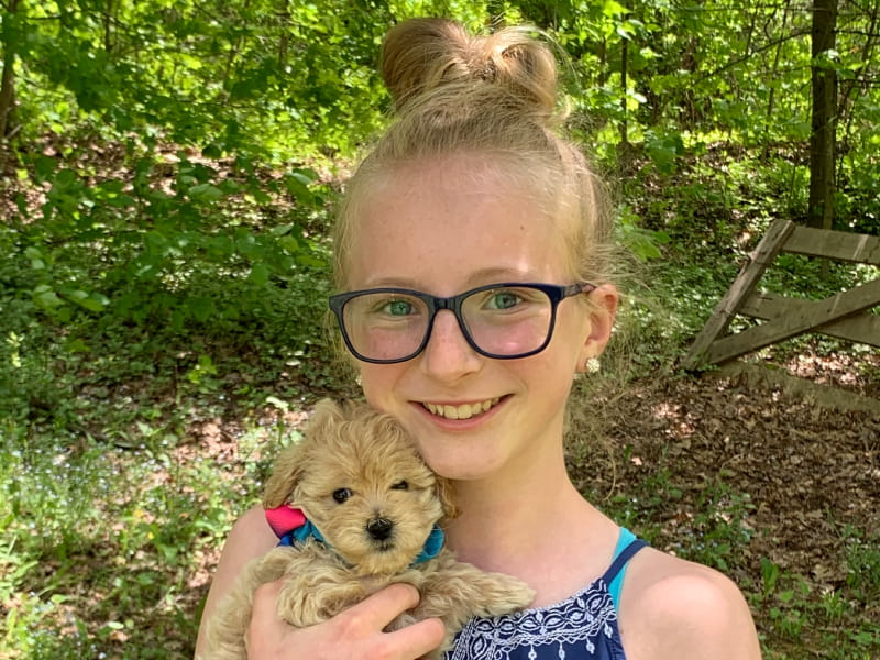12-year-old Abrielle Tallquist was born with an irregular heartbeat caused by long QT syndrome and has since had three pacemakers. (Photo courtesy of the Tallquist family)