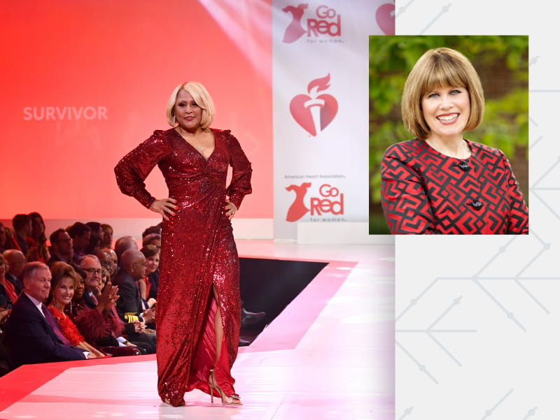 Darlene Love walks the runway at The American Heart Association's Go Red For Women Red Dress Collection 2020. (Photo by Slaven Vlasic/Getty Images for American Heart Association)