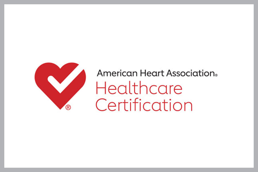 American Heart Association Healthcare Certification