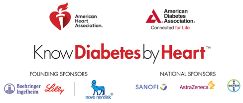 Know Diabetes by Heart Sponsor Logos