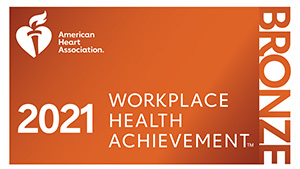 Workplace Health Index Recognition Level Bronze Seal