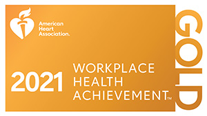 Workplace Health Index Recognition Level Gold Seal