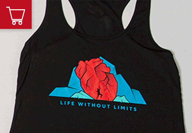 Life Without Limits Sporty Tank