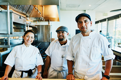 group of latino chefs