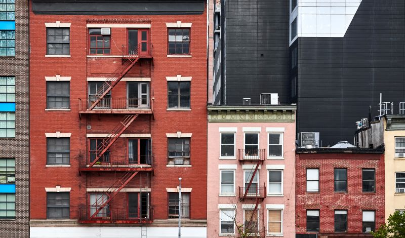 Urban housing in New York City